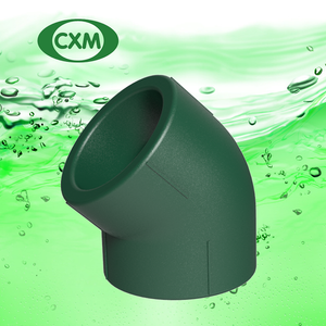 Dark Green PPR 45 Degree Elbow XM7001